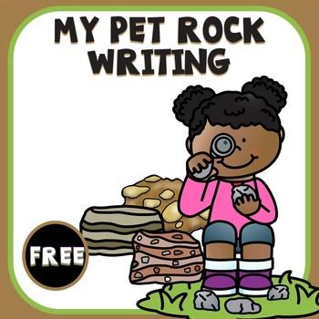 My Pet Rock Writing