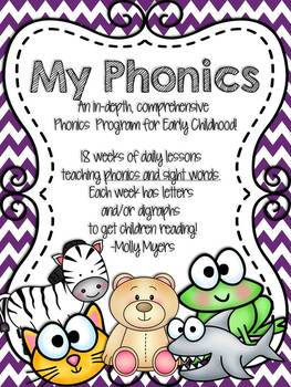 My Phonics - Comprehensive Phonics Curriculum - 18 weeks!