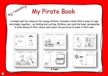My Pirate Book