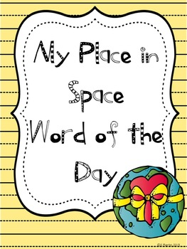 My Place in Space Word of the Day