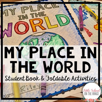 My Place in the World Book - Map Skills and Geography