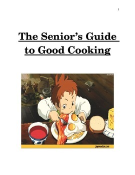 My Plate Cookbook Project Example