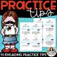 My Practice Stache: Deck of 52 Piano Practice Cards Plus Box