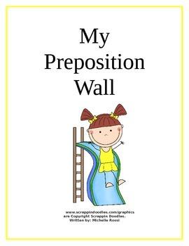 My Preposition Wall