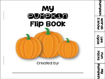 My Pumpkin Flip Book