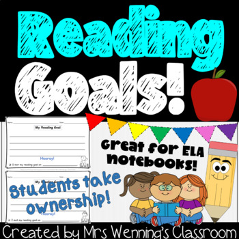 My Reading Goals Template!