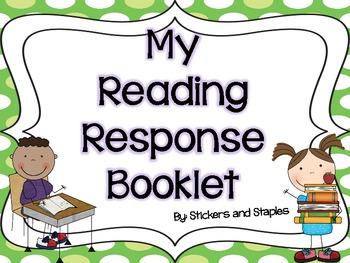 My Reading Response Booklet