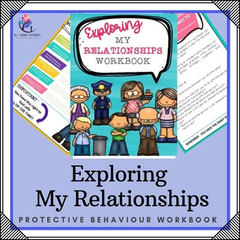 My Relationship Workbook - 10 Page Workbook (Protective Be
