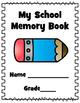 End of School Memory Book
