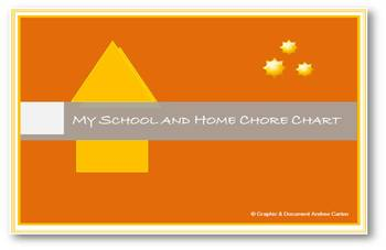 My School and Home Chart - Helping to improve Behavior!