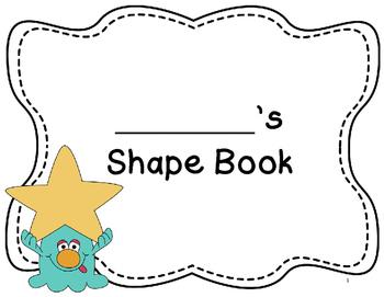 My Shape Book & Shape Monster (Grade 3 Geometry)-No Plan Unit!