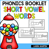 Interactive Phonics Booklet-Short Vowels