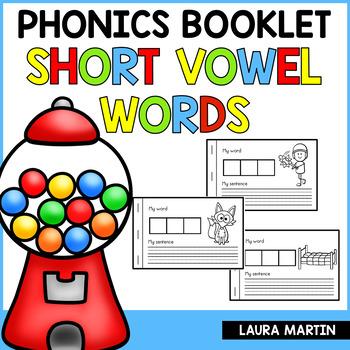 Interactive Phonics Booklet-Short Vowels