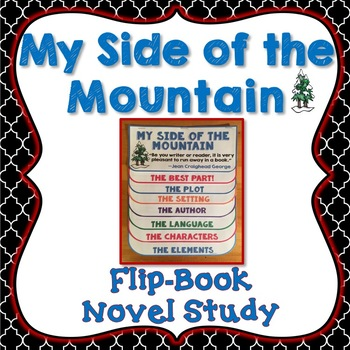 My Side of the Mountain Book Companion, Flip Book Project,