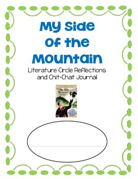 My Side of the Mountain Literature Circle Novel Book Study
