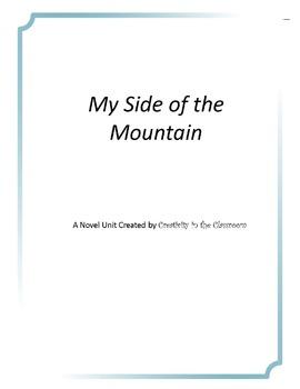 My Side of the Mountain Novel Unit Plus Grammar