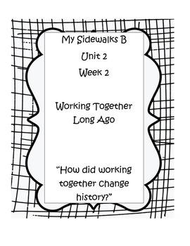 My Sidewalks B, Unit 2, Week 2 Resource Pack