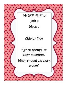 My Sidewalks B, Unit 2, Week 4 Resource Pack