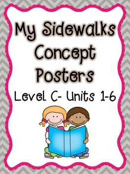 My Sidewalks Level C Concept Posters