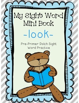 My Sight Word Book - LOOK