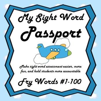My Sight Word Passport (Fry's First 100)