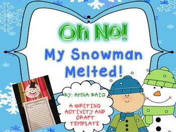 Winter Craftivity - Snowman Melted