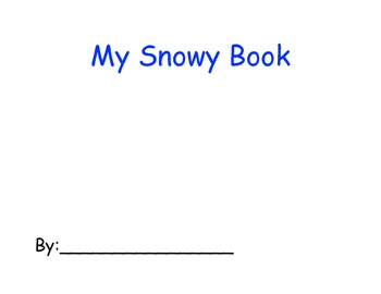My Snowy Book