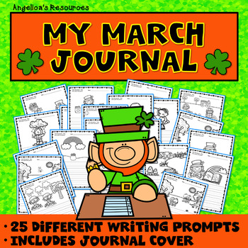 St. Patrick's Day: My March Journal (31 Different Writing