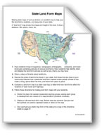 My State: Land Form and Resource Maps