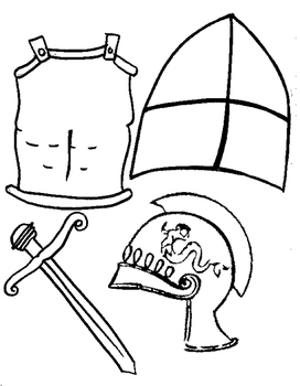 My Suit of Armor Activity
