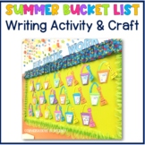My Summer Bucket List Writing and Craft Activity