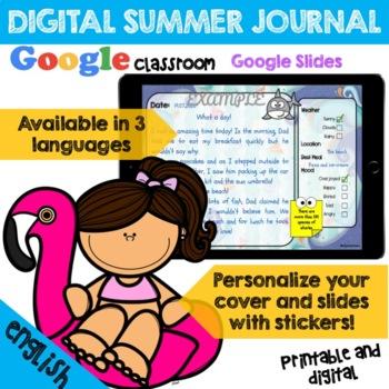 My Summer Journal - English Version