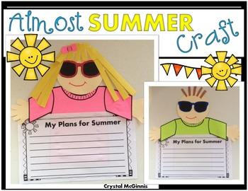 My Summer Plans CRAFTIVITY
