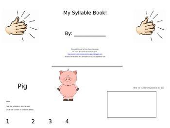 My Syllable Book!