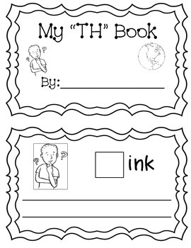 "My ""TH"" Digraph Book (sentences)"
