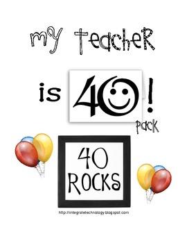 My Teacher is 40 Pack!