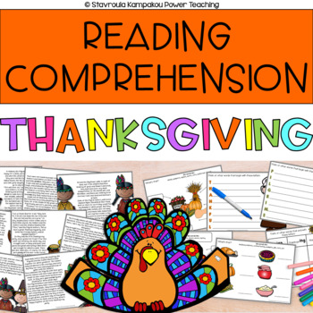 My Thanksgiving Story (Reading Comprehesion & Sentence bui