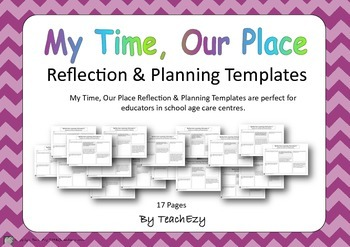 My Time, Our Place Reflection & Planning Templates