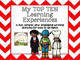 My Top Ten Learning Experiences