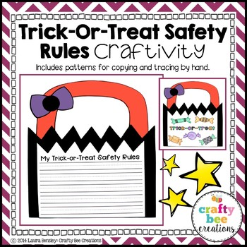 My Trick-Or-Treat Safety Rules Craftivity