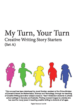 My Turn Your Turn Creative Writing Story Starters (Set A)