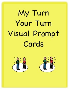 My Turn Your Turn Visual Prompt Cards