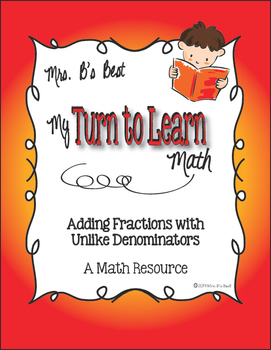 My Turn to Learn QR Code Task Cards: Adding Fractions with