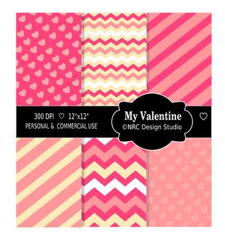 My Valentine Paper Pack