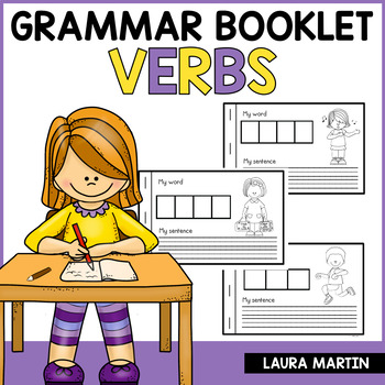 Interactive Parts of Speech Booklet-Verbs