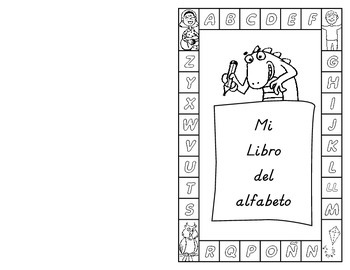 My Very Own Alphabet Book: Spanish (Pre-K to K) D'Nealian