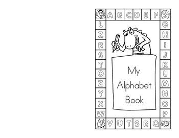 My Very Own Alphabet Book (Pre-K to K)-Manuscript Writing
