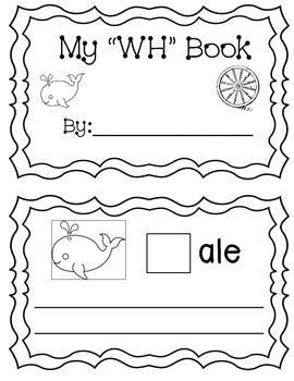 "My ""WH"" Digraph Book (sentences)"