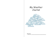 My Weather Journal  KJW Publications  - 6 pages  -  PDF