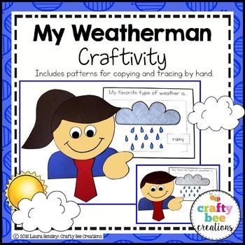My Weatherman Craftivity